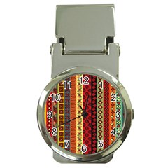Tribal Grace Colorful Money Clip Watches by Mariart
