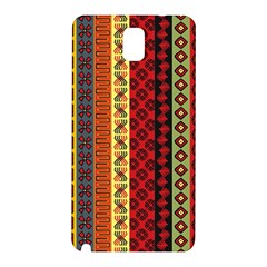 Tribal Grace Colorful Samsung Galaxy Note 3 N9005 Hardshell Back Case by Mariart