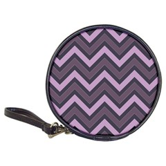 Zigzag Pattern Classic 20 Cd Wallets by Valentinaart