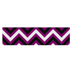 Zigzag Pattern Satin Scarf (oblong) by Valentinaart