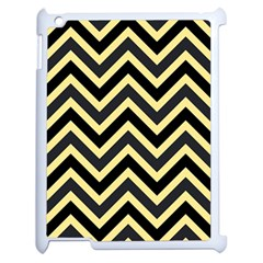 Zigzag Pattern Apple Ipad 2 Case (white) by Valentinaart