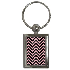 Zigzag Pattern Key Chains (rectangle)  by Valentinaart