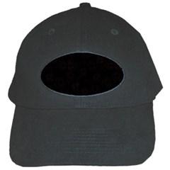 Pattern Black Cap by Valentinaart