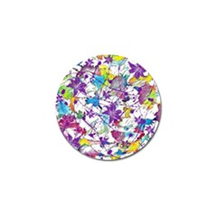 Lilac Lillys Golf Ball Marker (4 Pack) by designworld65