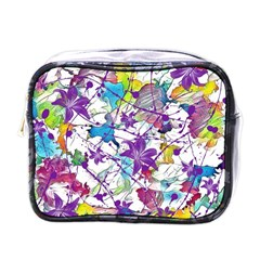Lilac Lillys Mini Toiletries Bags by designworld65