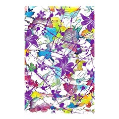Lilac Lillys Shower Curtain 48  X 72  (small)  by designworld65