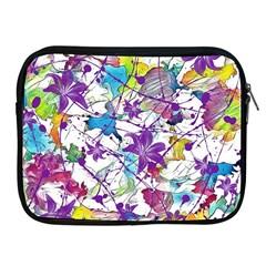 Lilac Lillys Apple Ipad 2/3/4 Zipper Cases by designworld65