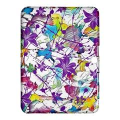 Lilac Lillys Samsung Galaxy Tab 4 (10 1 ) Hardshell Case  by designworld65