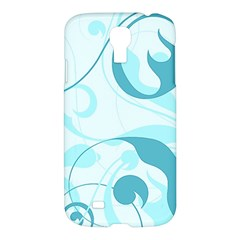 Floral Pattern Samsung Galaxy S4 I9500/i9505 Hardshell Case by Valentinaart