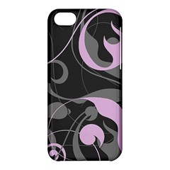 Floral Pattern Apple Iphone 5c Hardshell Case by Valentinaart