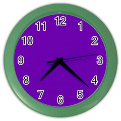 Color Color Wall Clocks by Valentinaart