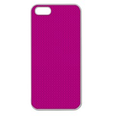 Color Apple Seamless Iphone 5 Case (clear) by Valentinaart