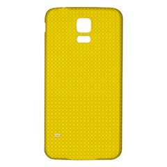 Color Samsung Galaxy S5 Back Case (white) by Valentinaart