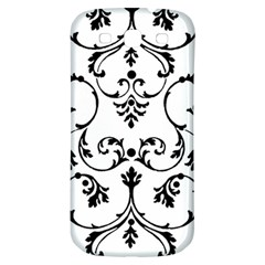 Ornament  Samsung Galaxy S3 S Iii Classic Hardshell Back Case by Valentinaart