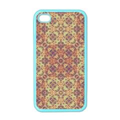 Vintage Ornate Baroque Apple Iphone 4 Case (color) by dflcprints