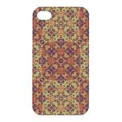 Vintage Ornate Baroque Apple Iphone 4/4s Hardshell Case by dflcprints