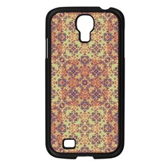 Vintage Ornate Baroque Samsung Galaxy S4 I9500/ I9505 Case (black) by dflcprints