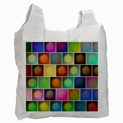Multicolored Suns Recycle Bag (two Side)  by linceazul