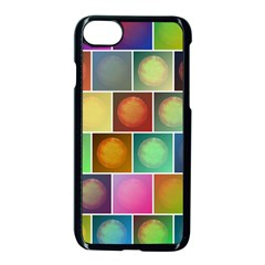 Multicolored Suns Apple Iphone 7 Seamless Case (black) by linceazul