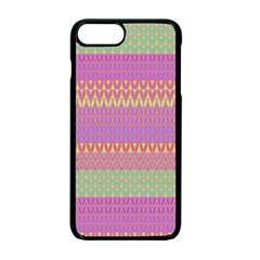 Pattern Apple Iphone 7 Plus Seamless Case (black) by Valentinaart