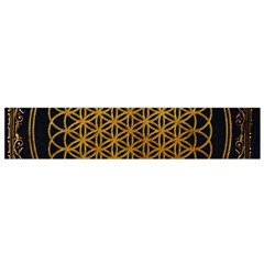 Bring Me The Horizon Cover Album Gold Flano Scarf (small) by Onesevenart