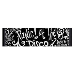 Panic ! At The Disco Lyric Quotes Satin Scarf (oblong) by Onesevenart