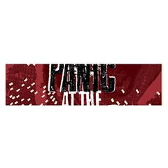 Panic At The Disco Poster Satin Scarf (oblong) by Onesevenart
