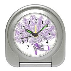 Panic At The Disco Travel Alarm Clocks by Onesevenart