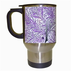 Panic At The Disco Travel Mugs (white) by Onesevenart