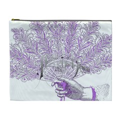 Panic At The Disco Cosmetic Bag (xl) by Onesevenart