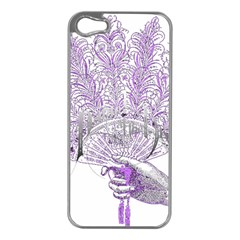 Panic At The Disco Apple Iphone 5 Case (silver) by Onesevenart