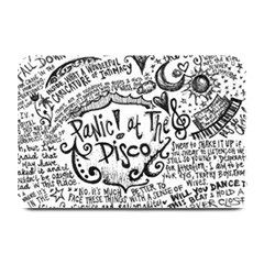 Panic! At The Disco Lyric Quotes Plate Mats by Onesevenart