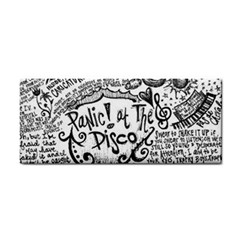 Panic! At The Disco Lyric Quotes Cosmetic Storage Cases by Onesevenart