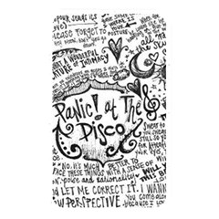 Panic! At The Disco Lyric Quotes Memory Card Reader by Onesevenart