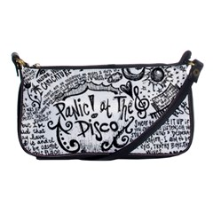 Panic! At The Disco Lyric Quotes Shoulder Clutch Bags by Onesevenart