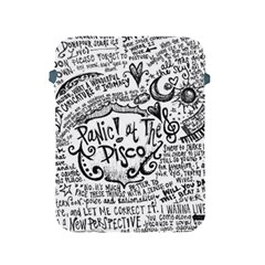 Panic! At The Disco Lyric Quotes Apple Ipad 2/3/4 Protective Soft Cases by Onesevenart