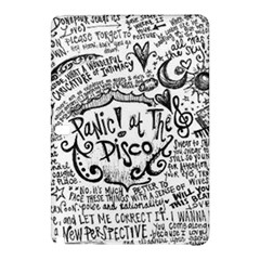 Panic! At The Disco Lyric Quotes Samsung Galaxy Tab Pro 10 1 Hardshell Case by Onesevenart