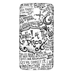 Panic! At The Disco Lyric Quotes Samsung Galaxy S5 Back Case (white) by Onesevenart