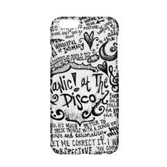 Panic! At The Disco Lyric Quotes Apple Iphone 6/6s Hardshell Case by Onesevenart