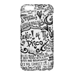 Panic! At The Disco Lyric Quotes Apple Iphone 6 Plus/6s Plus Hardshell Case by Onesevenart