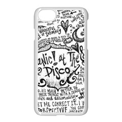 Panic! At The Disco Lyric Quotes Apple Iphone 7 Seamless Case (white) by Onesevenart