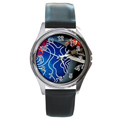 Panic! At The Disco Released Death Of A Bachelor Round Metal Watch by Onesevenart