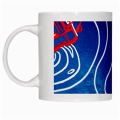 Panic! At The Disco Released Death Of A Bachelor White Mugs by Onesevenart