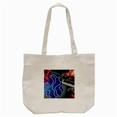 Panic! At The Disco Released Death Of A Bachelor Tote Bag (cream) by Onesevenart