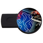 Panic! At The Disco Released Death Of A Bachelor USB Flash Drive Round (4 GB)