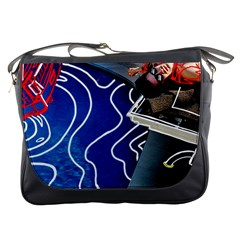 Panic! At The Disco Released Death Of A Bachelor Messenger Bags by Onesevenart