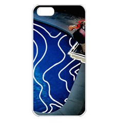Panic! At The Disco Released Death Of A Bachelor Apple Iphone 5 Seamless Case (white) by Onesevenart