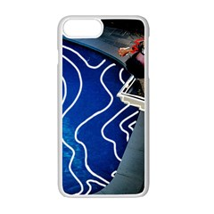 Panic! At The Disco Released Death Of A Bachelor Apple Iphone 7 Plus White Seamless Case by Onesevenart