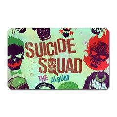 Panic! At The Disco Suicide Squad The Album Magnet (rectangular) by Onesevenart
