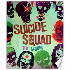Panic! At The Disco Suicide Squad The Album Canvas 8  X 10  by Onesevenart